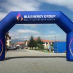 peraria arco gonfiabile bluenergy gas luce